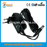 100-240V AC Input DC Power Adapter 12V 1A Output 12W