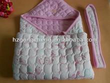 Fine Workanship Newborn baby quilt plain white