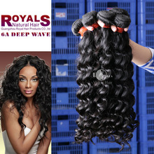 deep wave brazilian virgin hair ,beauty brazilian hair product curly human hair extensions