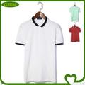 Personalizado 2014 nuevo diseño falsas de polo camisetas para niños y niñas, ajuste seco camisa de polo