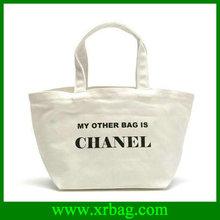 Reusable ego promotion shopping totes