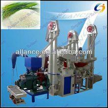 Küçük ölçekli yüksek- teknoloji tam otomatik küçük pirinç fabrikası tesisi