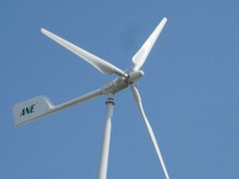 Horizontal 5kw small wind turbine,CE,farm,home,solar panel,pitch controlled blades