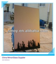 Elegant colored tinted wall mirror glass manufacturer, colored mirror glass sheet, tinted mirror with VARIOUS COLOR OPTIONS
