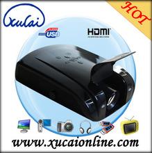 500 lumens Low Price Mini LED Projector with HDMI/USB/TV/AV/VGA Ports XC-089