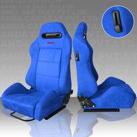 RECARO car seat SPD suede blue seat