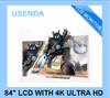 "Professinal used lcd monitors wholesale 84"" 4k ultra hd"