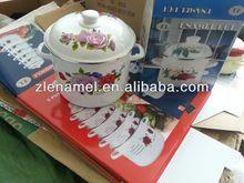 hot sale 26cm Casserole Pot/Enamel Stock Pot