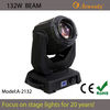 sharpy 132w 2r beam moving head light