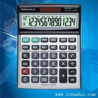 stainless steel plate weight calculator RD-6814 wholesales calculator and OEM is ok! 14 digit electronic desktop calculator