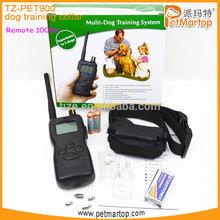 Multi-Dogs Training System &1000m remote dog training collar shock TZ-PET900