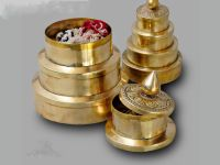 Sumeru brass container
