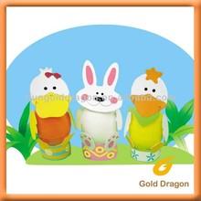 Easter DIY Egg Cardboard Sticker