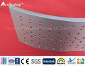 materiais de construção de alumínio perfurado painéis