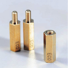 ECO-brass environment friendly standoff Low-Pb Brass standoff Japanese electric parts Silicon added / eco brass