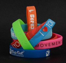 silicone bracelets | great quality silicone bands | Customized silicone bracelet wristbands