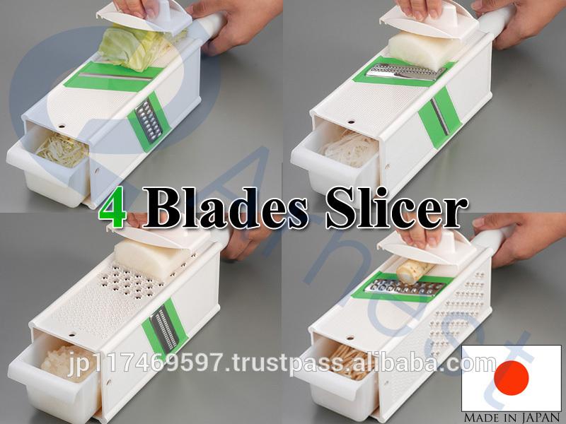japanse keukengerei eten snijmachine van 4 richtingen plantaardige kool schaaf rasp 4 bladen