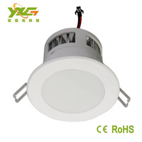 High power 85-265V Ce&RoHS approved 5w Recessed downlight led 3years warranty