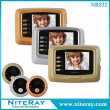 wireless video ding dong door bell glass door eye