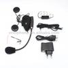 wireless full duplex V2-500C motorcycle helmet bluetooth headset/intercom