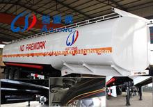 gasoline crude oil fuel road tanke semi trailer / fuel tanker trailer