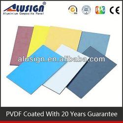 China suppliers building materials aluminum composite panel