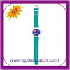 Custom made watch dials colorful thin strap low cost analog watch