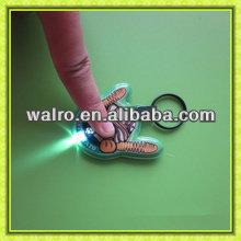 promotional PVC mini led light key