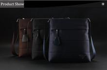 2014 Hot Sale Waterproof Oxford Cotton Fabric Men Shoulder Bag