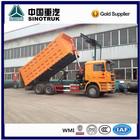 SINOTRUK 10 wheels hand drive dump truck