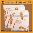 snack food packaging bag,bread packaging paper bag
