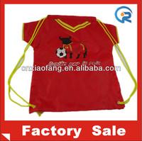 Wholesale promotion drawstring non woven bag clothe design