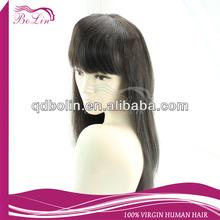 High quality virgin peruvian human hair lace wigs for black women
