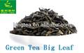 folhas de chá verde yunnan chá verde