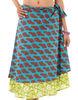 2014 hot sale elegant women medium wrap skirt silk magic wrap around skirt