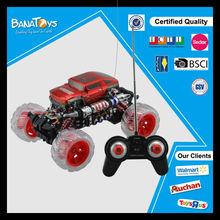 Hot item 4 functions remote control stunt car