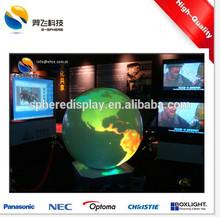 Science on a Sphere globe display