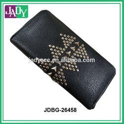 2015 Fashion ladies Studded Leather Clutch bag