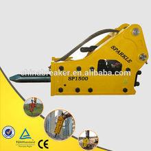 SPARKLE series hydraulic rock breaker/breaker hammer for KOBELCO SK300excavator
