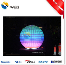 Outdoor Spherical Projection System