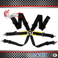 Kylin Spaco FIA 2018 Homologation 3 inches/6Point Racing Seat Belt RACING HARNESS