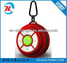 Keychain music portable wireless mini bluetooth speaker