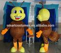 insectos adultos traje de la mascota de la felpa niza traje de hormiga