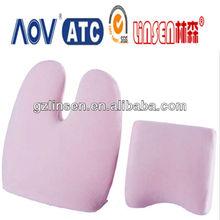 Guangzhou OEM professional Linsen brand memory foam neck and back car massage cushion