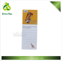 customized magnetic memo pad shopping list wholesale