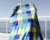 Check printing fleece blanket