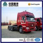 Howo 6x4 10 wheeler euro 2 tractor for sale in Dubai