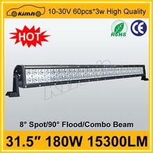 "High quality 31.5"" 15300LM auto 4x4 led offroad light bar"
