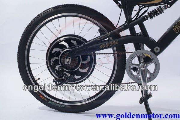 ... Le plus rapide vélo électrique dans le monde! Or marque du moteur E