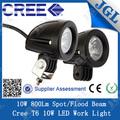 Nova 2014 10w impermeável diodo emissor de luz de trabalho, lâmpada de led trabalho ix35 para carros hyundai 4x4 auto caminhões